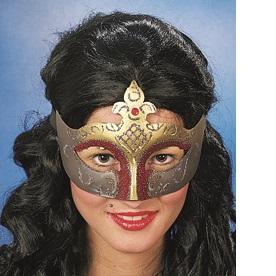 46034 Maske Venedig gold rot
