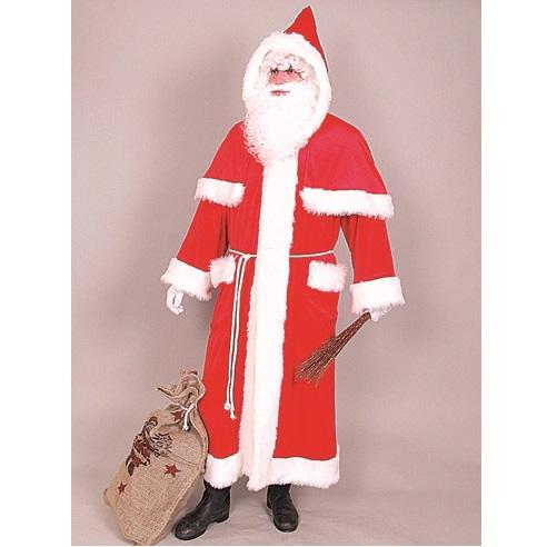 21302.00 Weihnachtsmannmantel m. Pellerine Samt-94breit